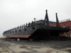 Brand new 180ft Deck Cargo Barges for A.M.S. Tugs and Barges' Asian fleet