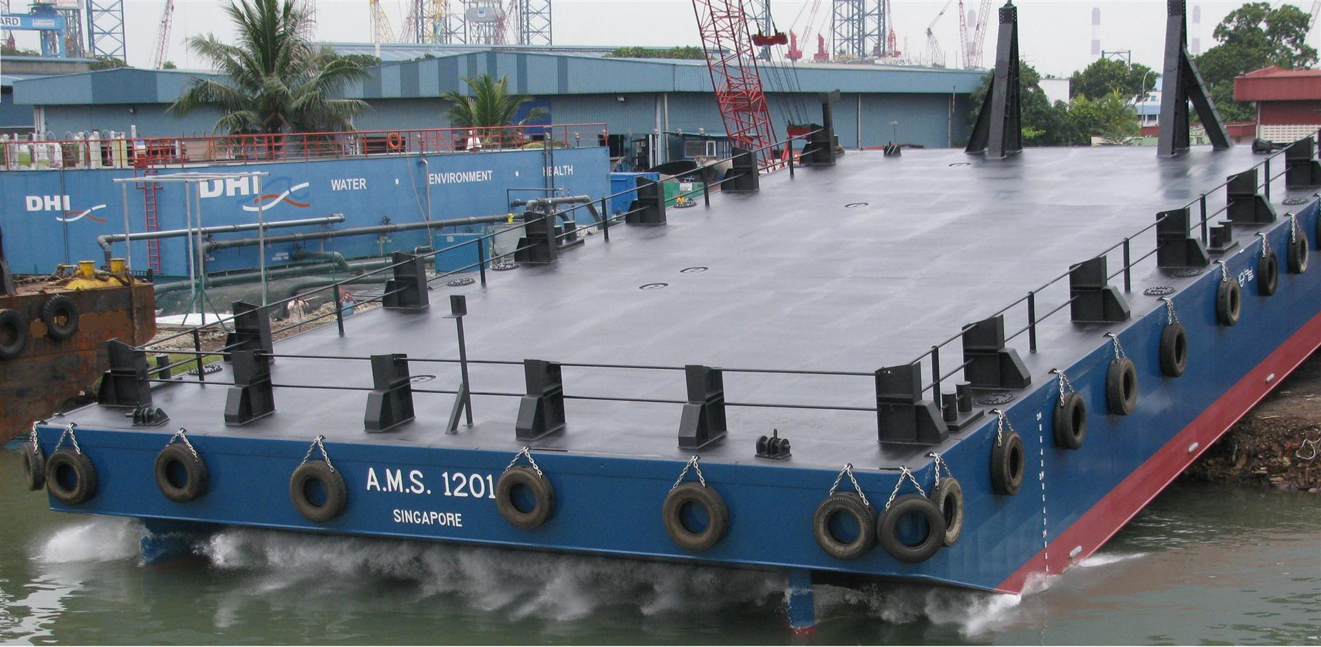 A M S  Tugs and Barges targets the Australian market with