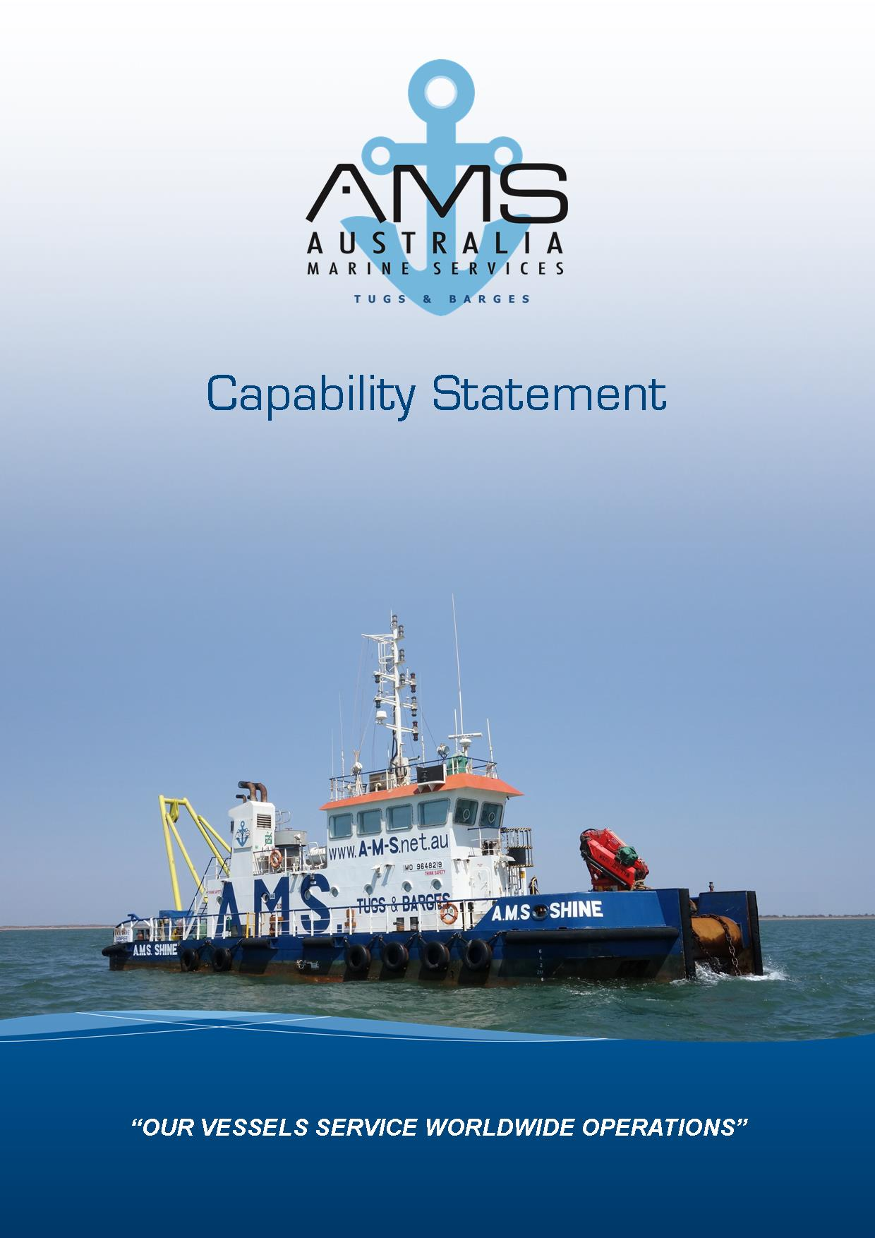 Capability Statement image for Australia Marine Services
