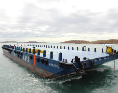 Successful Delivery of High Spec'ed Ballast Tank Barges into Australia