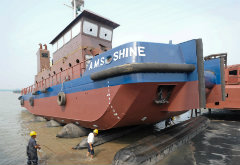 Successful launch of A.M.S. SHINE and A.M.S. SWISSCO