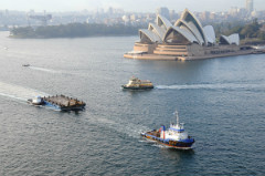 A.M.S. 1201 - 35M Construction Barge Delivered and Readily Available in Sydney, NSW
