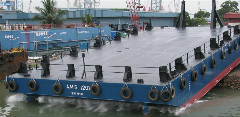 ECHO OF SUCCESS - A.M.S. 1201 - 35m Construction Dumb Barge is coming to Australia