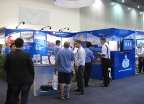 A.M.S. Tugs and Barges successful participation at the 2012 Australasian Oil and Gas Exhibition.