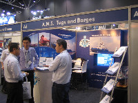 A.M.S. Tugs and Barges Successful Participation in AOG 2011