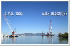 A.M.S. Gladstone will be working in the Webb Dock Project in Melbourne