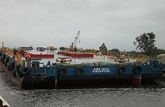 A.M.S. 1803 - A renewed barge set for work in Newcastle NSW