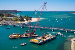 A.M.S. 1803 and A.M.S. 1807 engaged for Batemans Bay Bridge Replacement Project